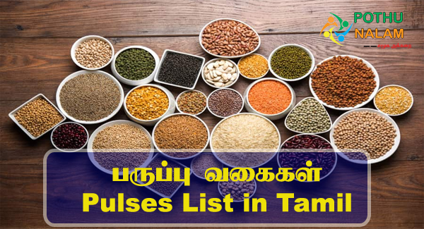 pulses list in tamil
