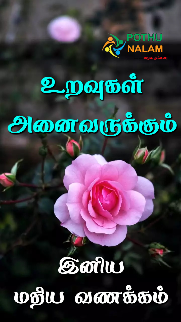 good afternoon lunch images in tamil